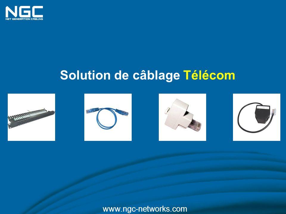 Solution de câblage Télécom