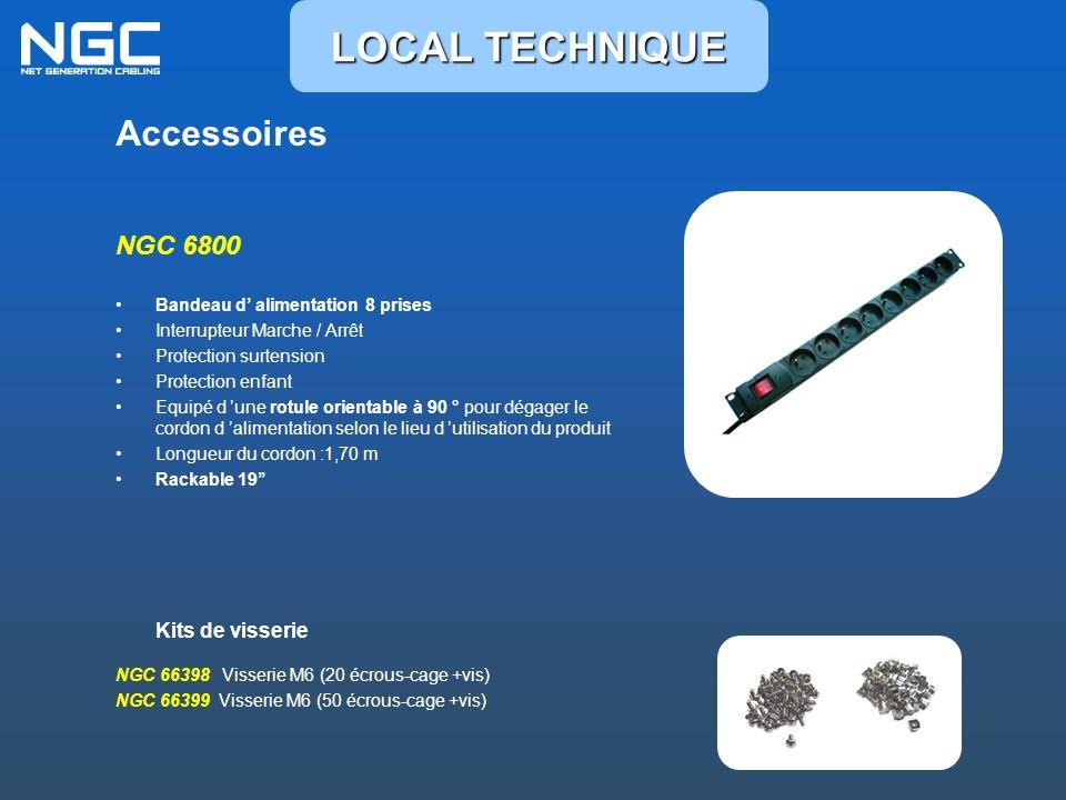 LOCAL TECHNIQUE Accessoires NGC 6800 Kits de visserie
