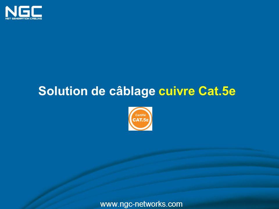 Solution de câblage cuivre Cat.5e