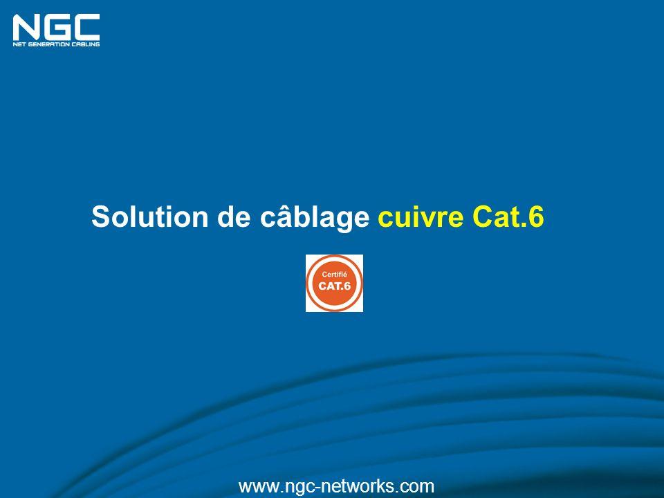 Solution de câblage cuivre Cat.6