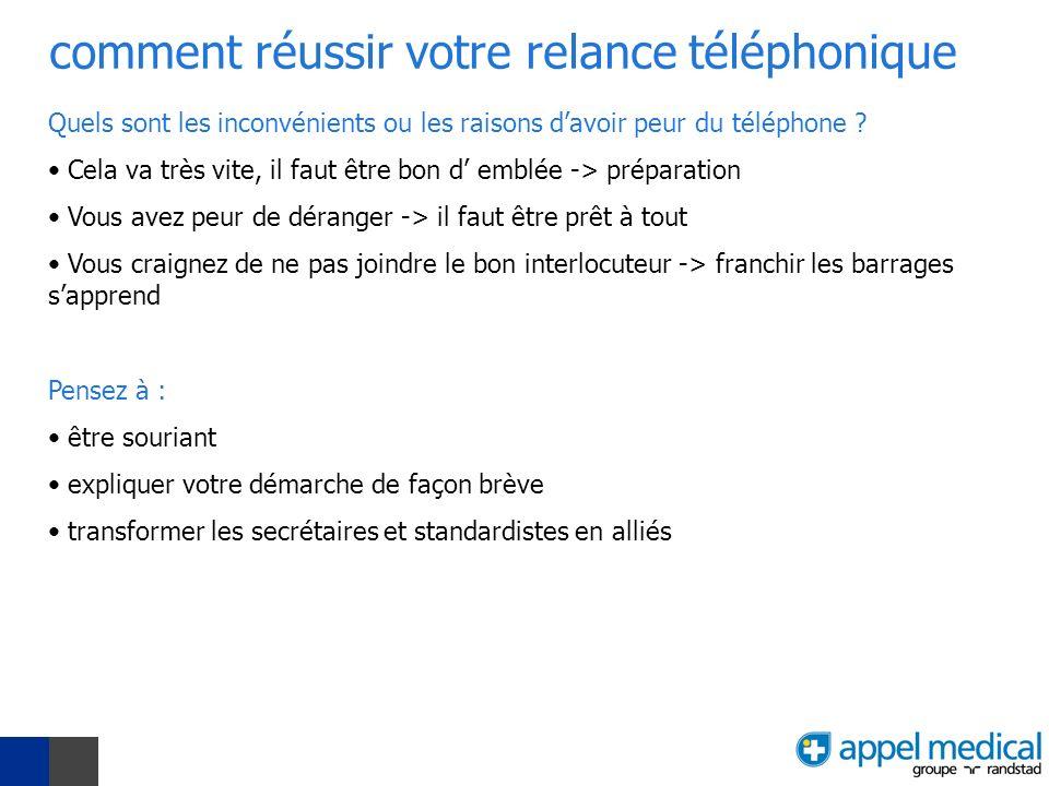 comment réussir votre relance téléphonique