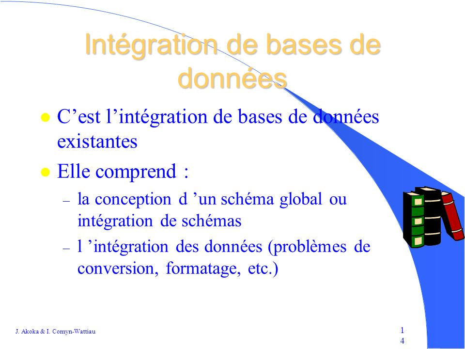 Intégration de bases de données