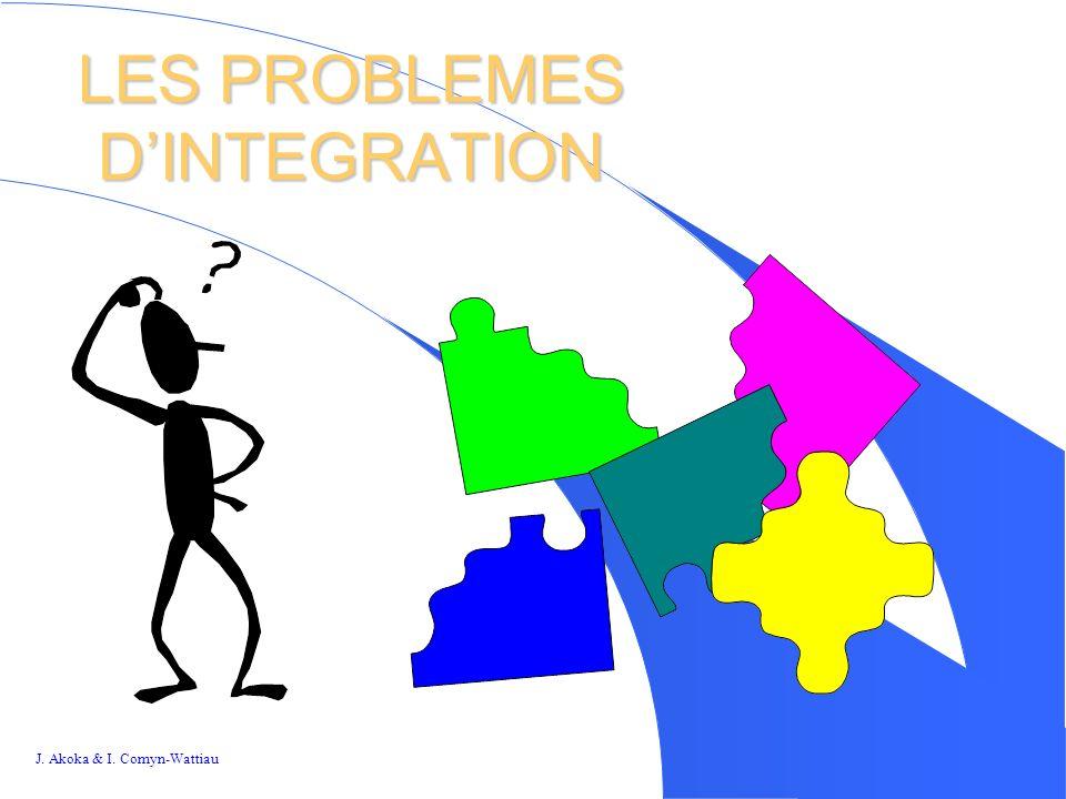 LES PROBLEMES D'INTEGRATION