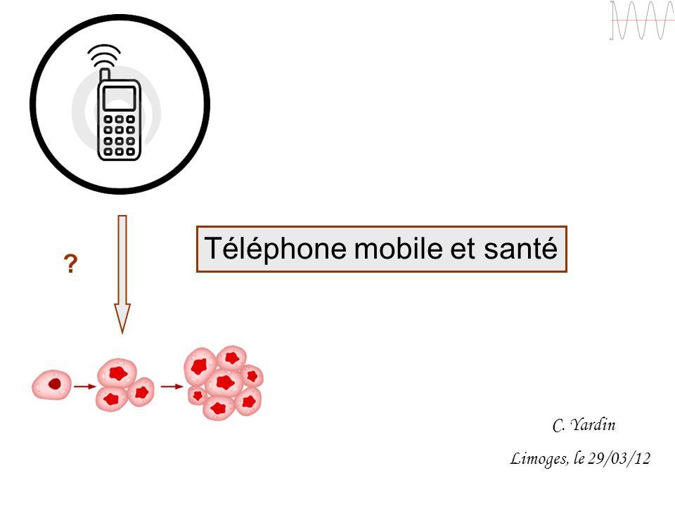 Téléphone mobile et santé