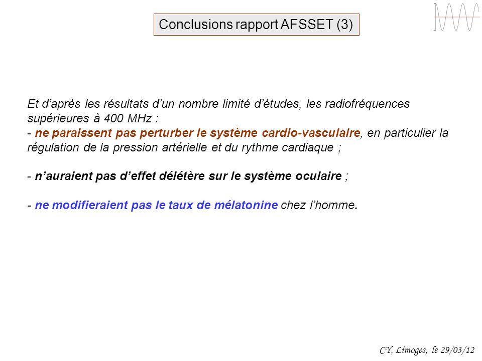 Conclusions rapport AFSSET (3)
