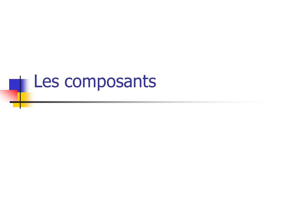 Les composants