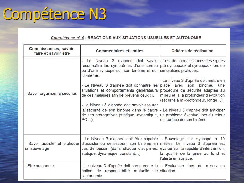 Compétence N3