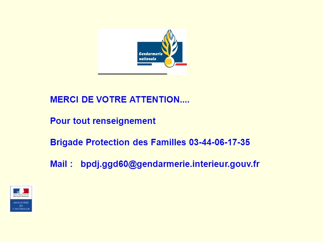 MERCI DE VOTRE ATTENTION....