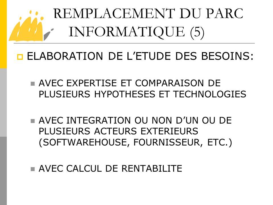 REMPLACEMENT DU PARC INFORMATIQUE (5)