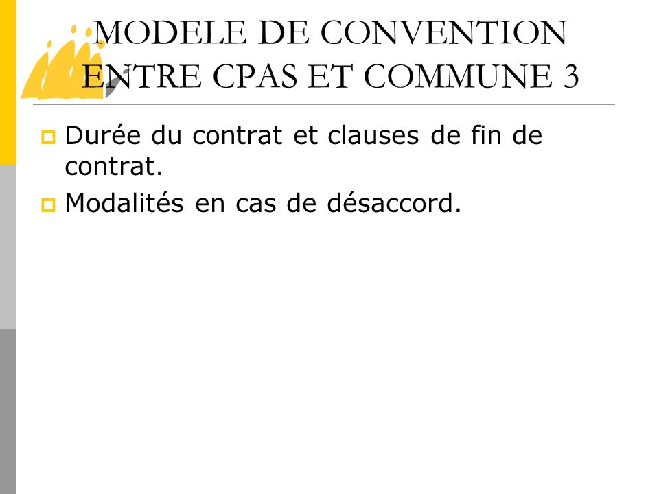 MODELE DE CONVENTION ENTRE CPAS ET COMMUNE 3