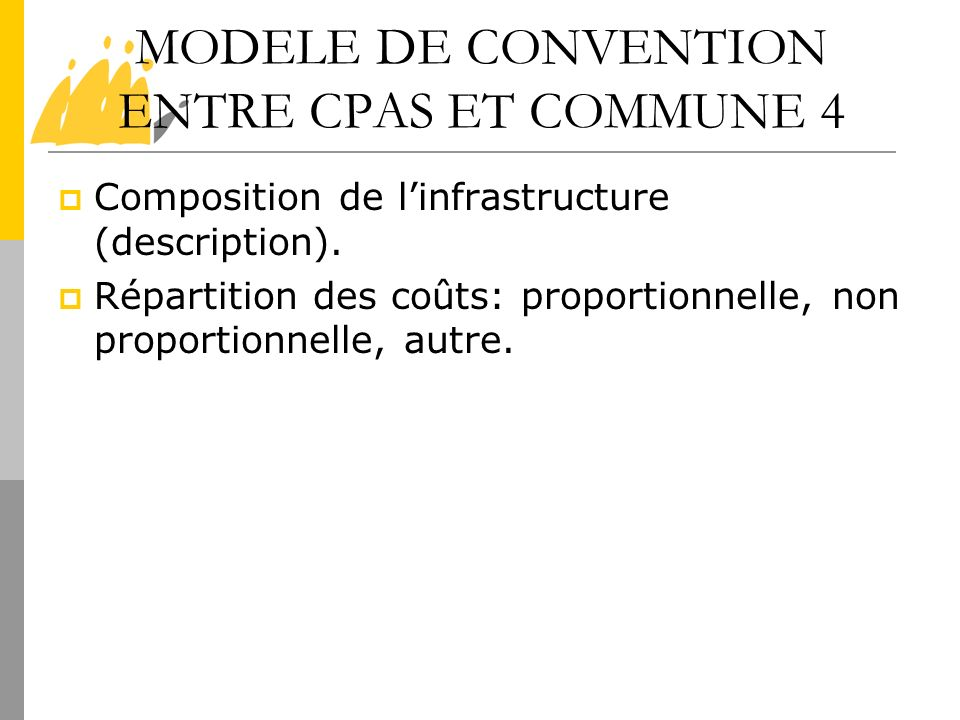 MODELE DE CONVENTION ENTRE CPAS ET COMMUNE 4