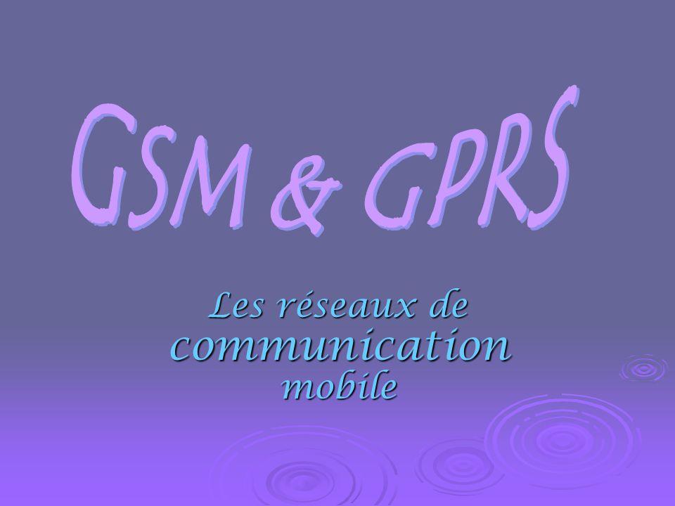 Les réseaux de communication mobile