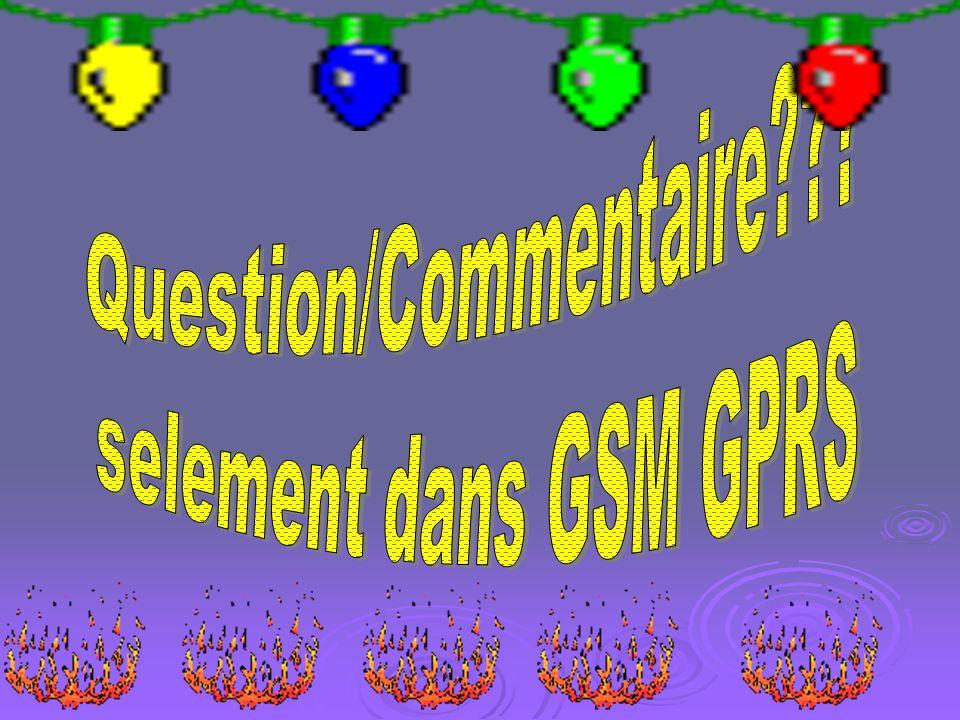 Question/Commentaire