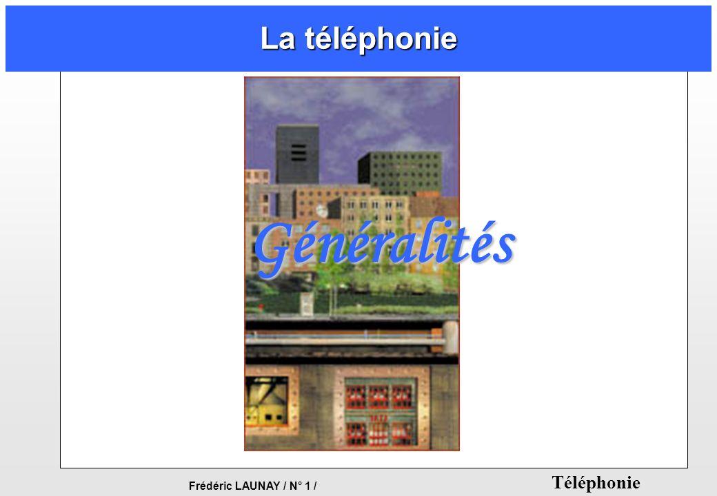 La téléphonie Généralités