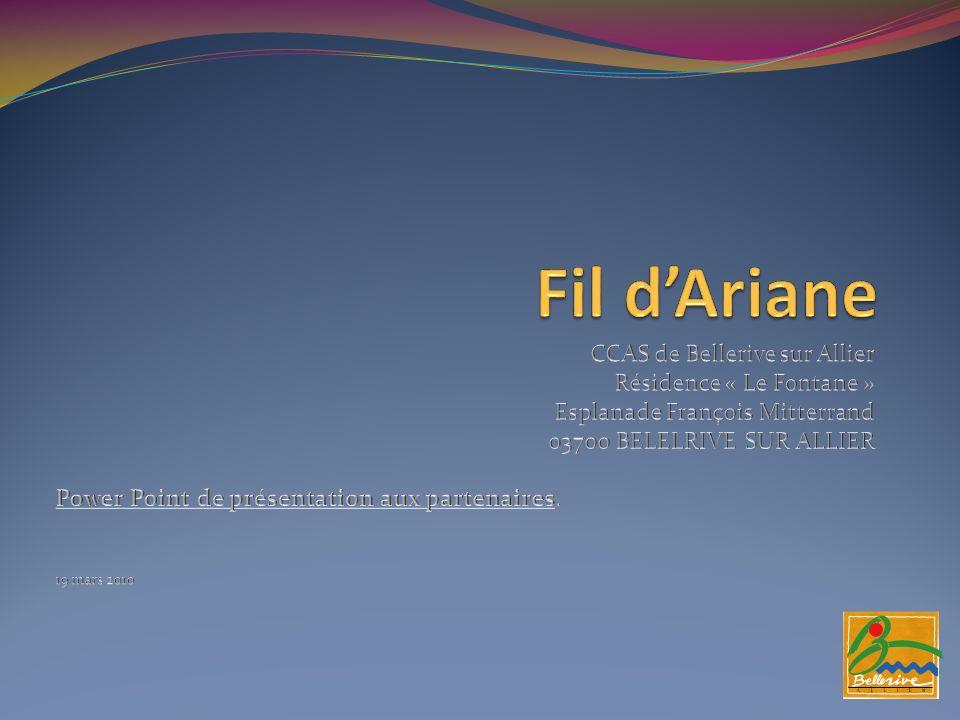 Fil d'Ariane CCAS de Bellerive sur Allier Résidence « Le Fontane »