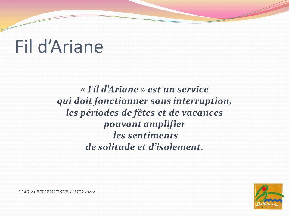 Fil d'Ariane « Fil d'Ariane » est un service