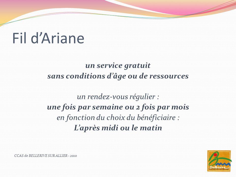 Fil d'Ariane un service gratuit sans conditions d'âge ou de ressources