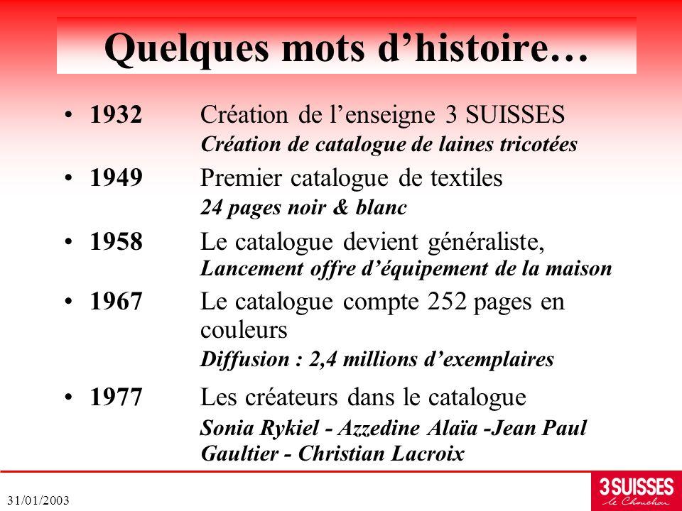 Quelques mots d'histoire…