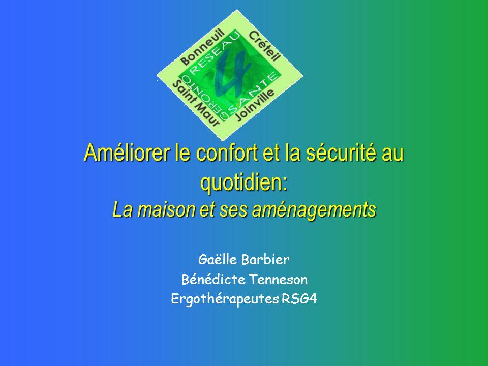Gaëlle Barbier Bénédicte Tenneson Ergothérapeutes RSG4
