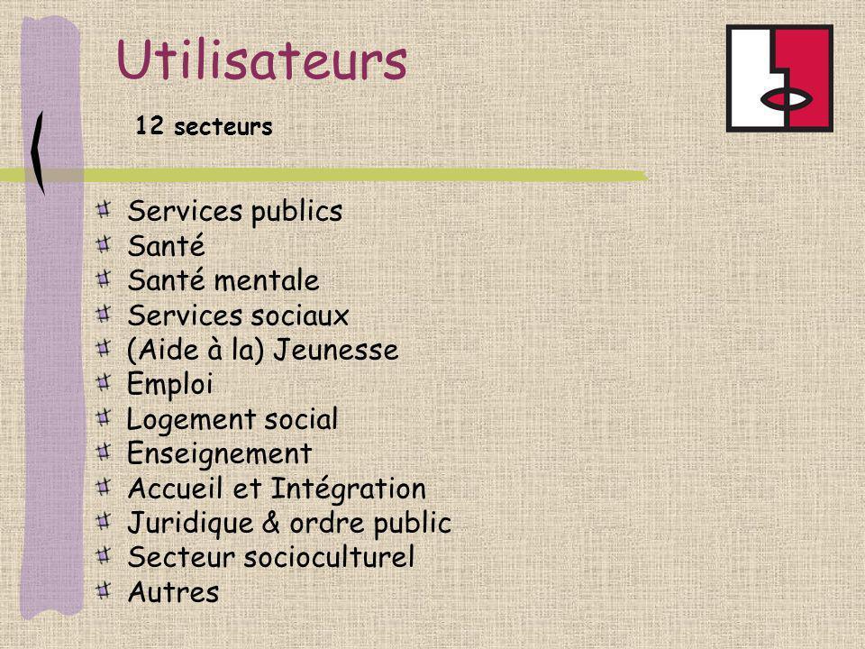 Utilisateurs Services publics Santé Santé mentale Services sociaux