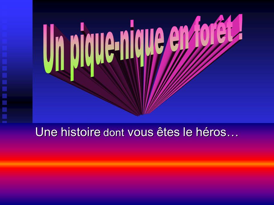Une histoire dont vous êtes le héros…