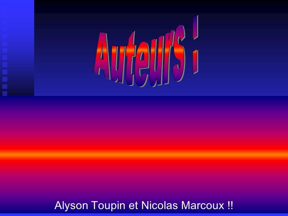 Alyson Toupin et Nicolas Marcoux !!
