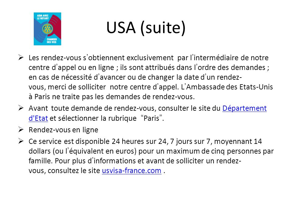 USA (suite)