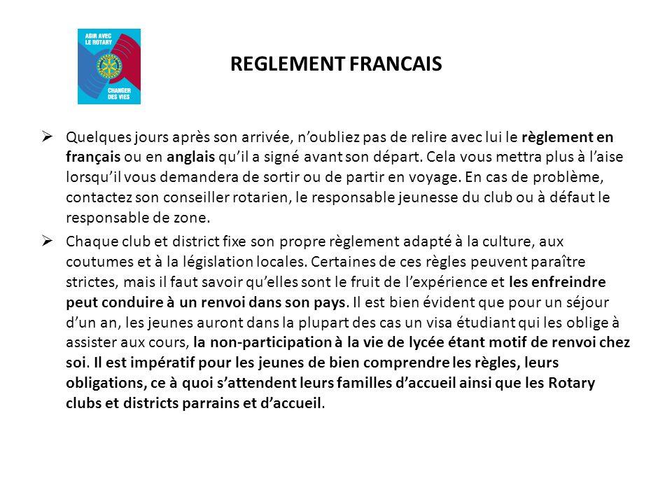 REGLEMENT FRANCAIS