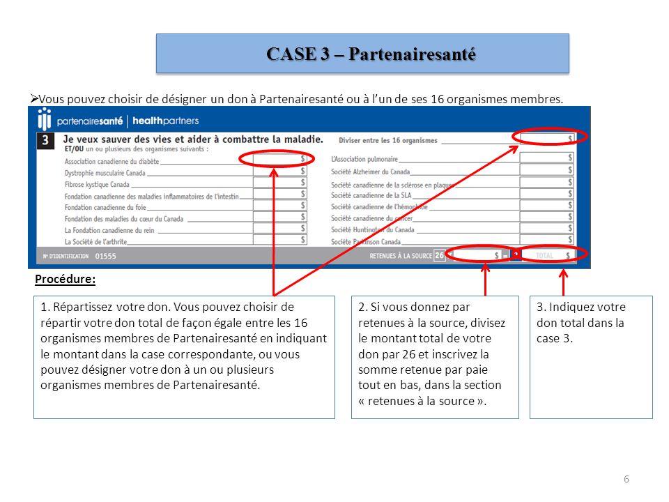 CASE 3 – Partenairesanté
