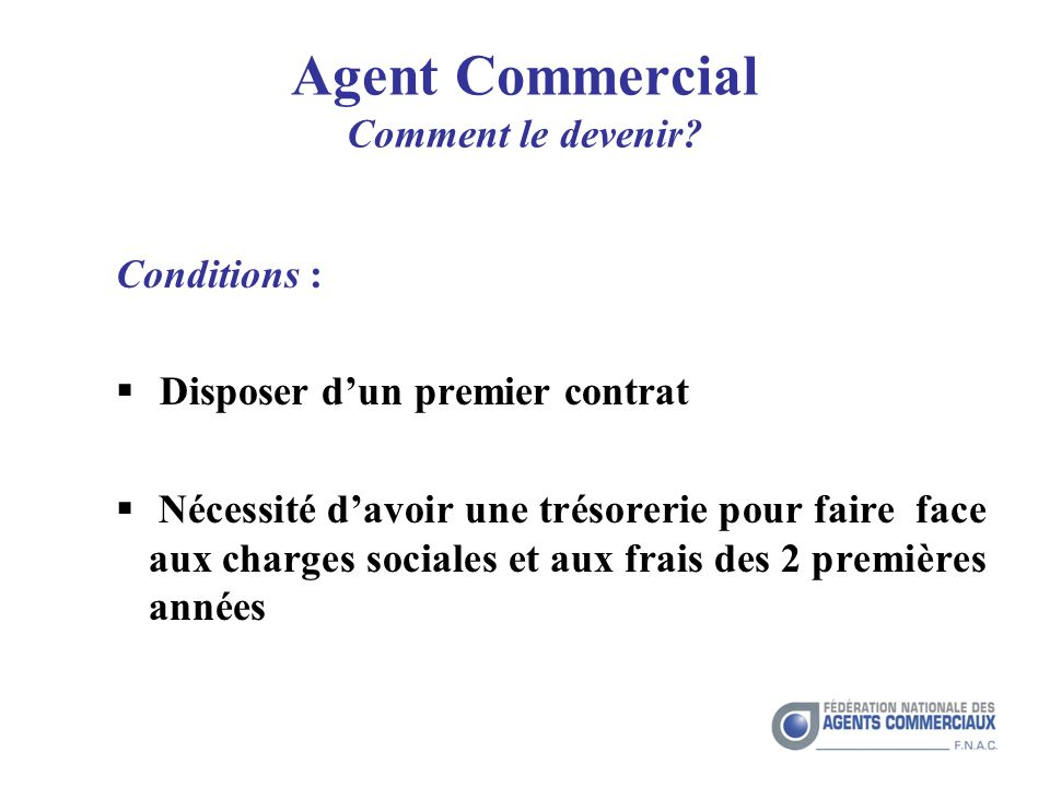 Agent Commercial Comment le devenir