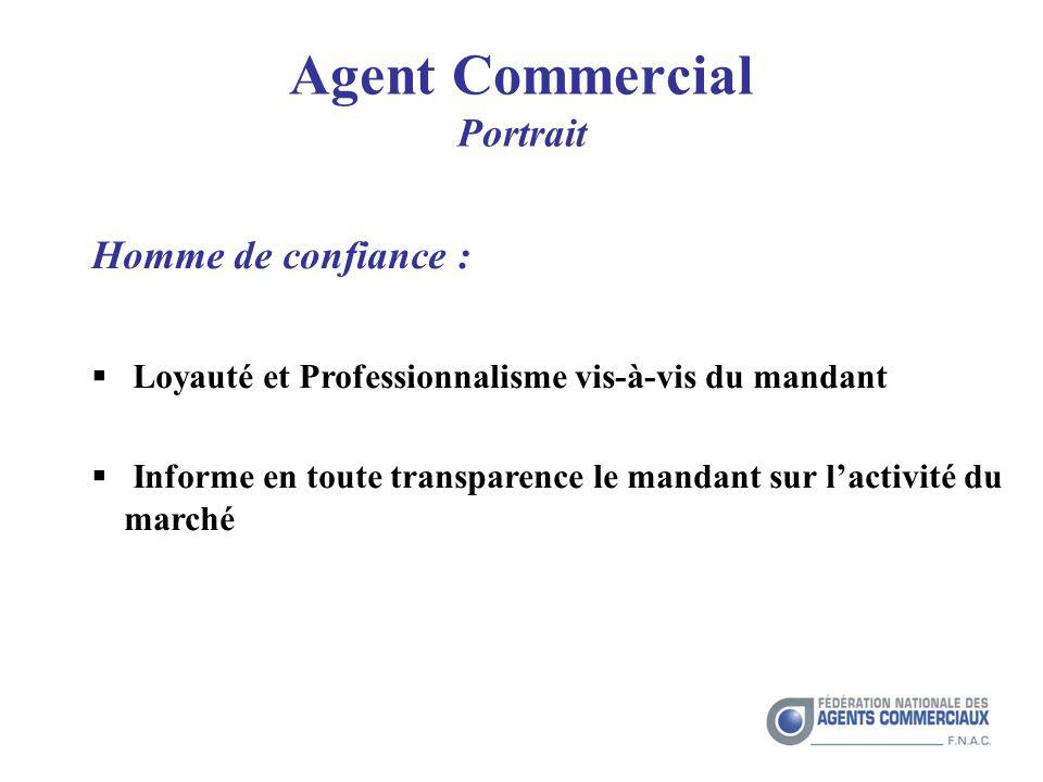 Agent Commercial Portrait