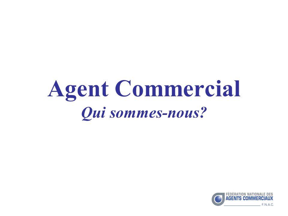 Agent Commercial Qui sommes-nous