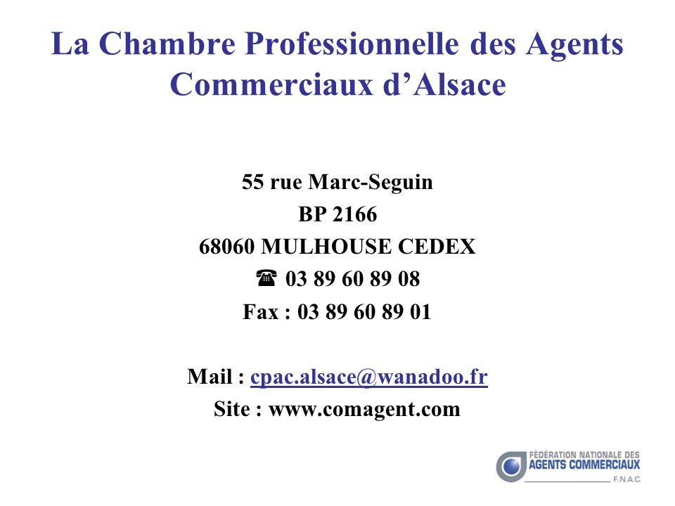 La Chambre Professionnelle des Agents Commerciaux d'Alsace