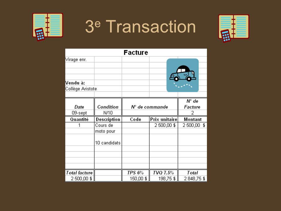 3e Transaction