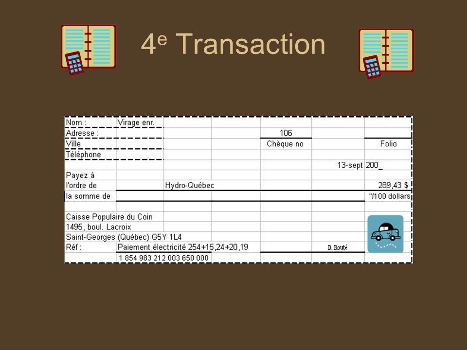 4e Transaction