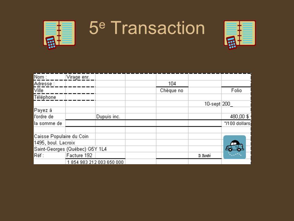 5e Transaction
