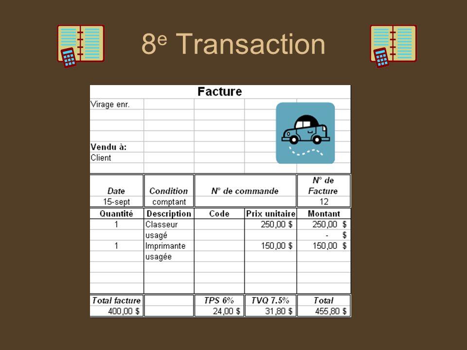 8e Transaction