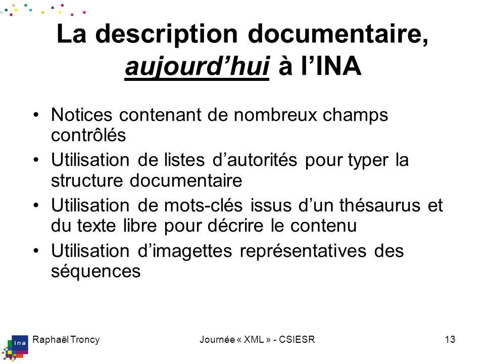 Typologie INA 1/3 Les 45 genres possibles dans la typologie INA (+3 qui ne sont plus utilisés)  mais tous ne sont pas au même niveau !