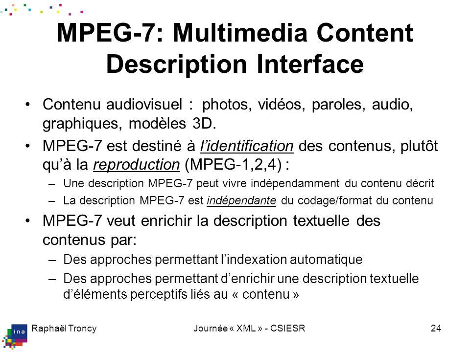 MPEG-7, le nouveau langage de description multimédia