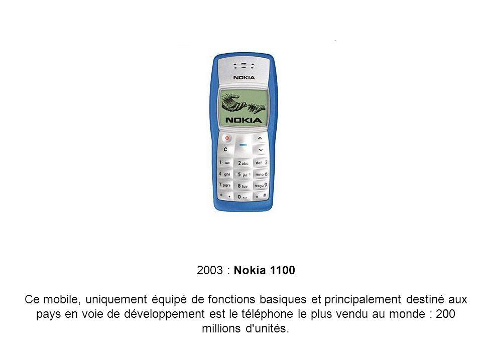 2003 : Nokia 1100