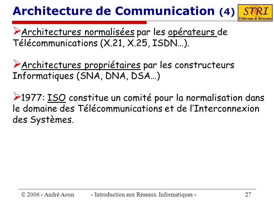 Architecture de Communication (4)