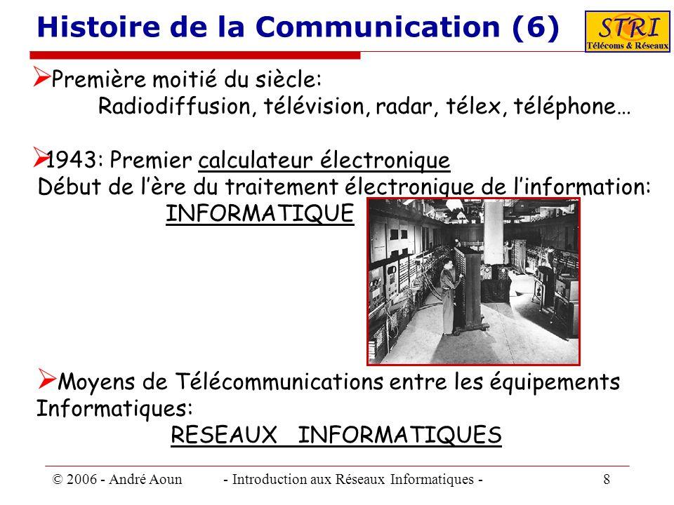 Histoire de la Communication (6)
