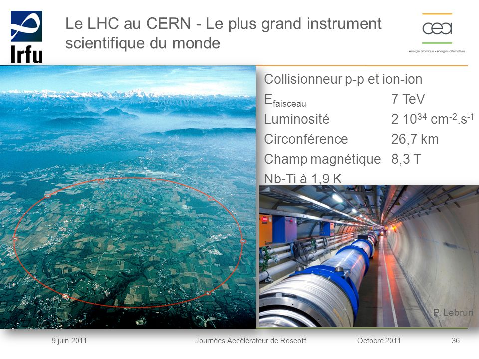 Le LHC au CERN - Le plus grand instrument scientifique du monde