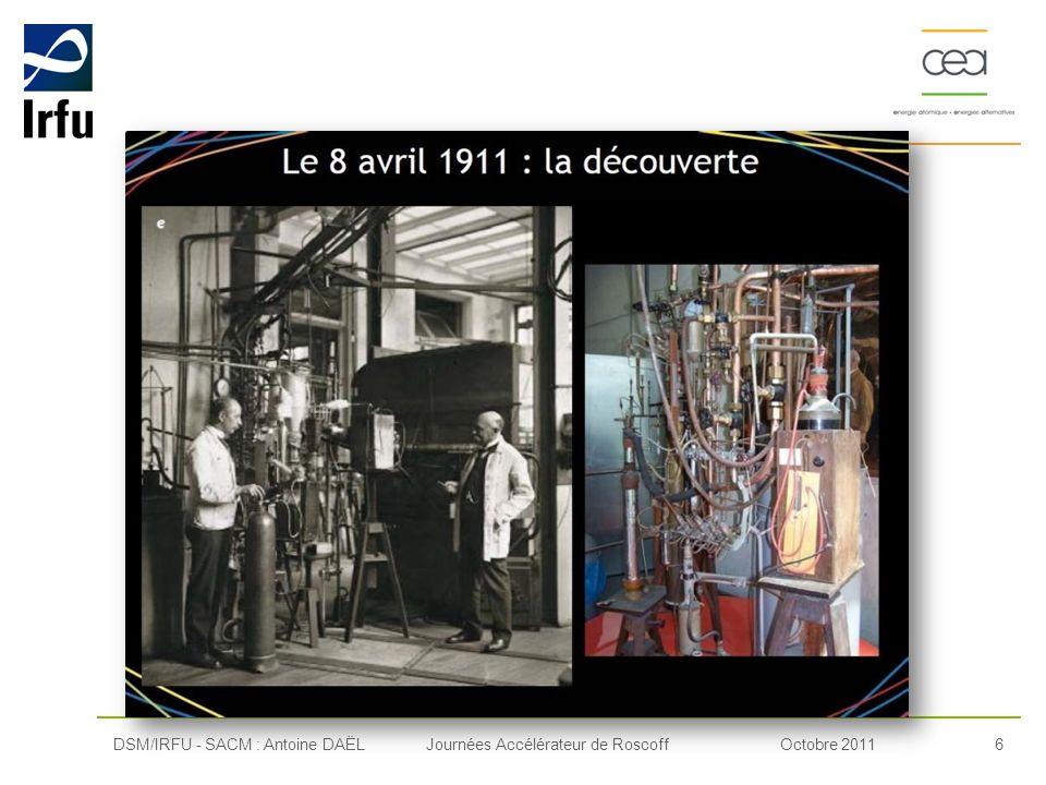 DSM/IRFU - SACM : Antoine DAËL