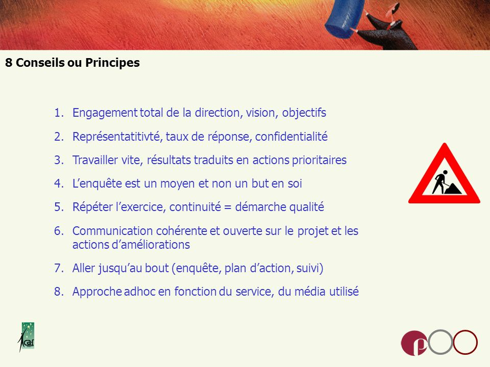 Engagement total de la direction, vision, objectifs