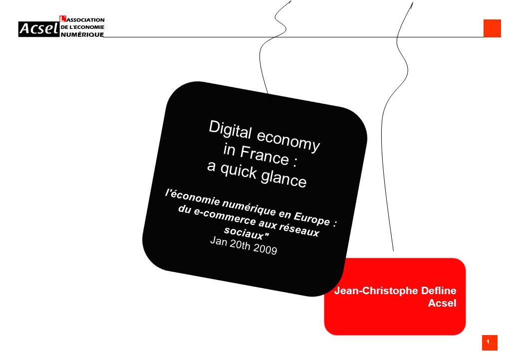l économie numérique en Europe : du e-commerce aux réseaux sociaux