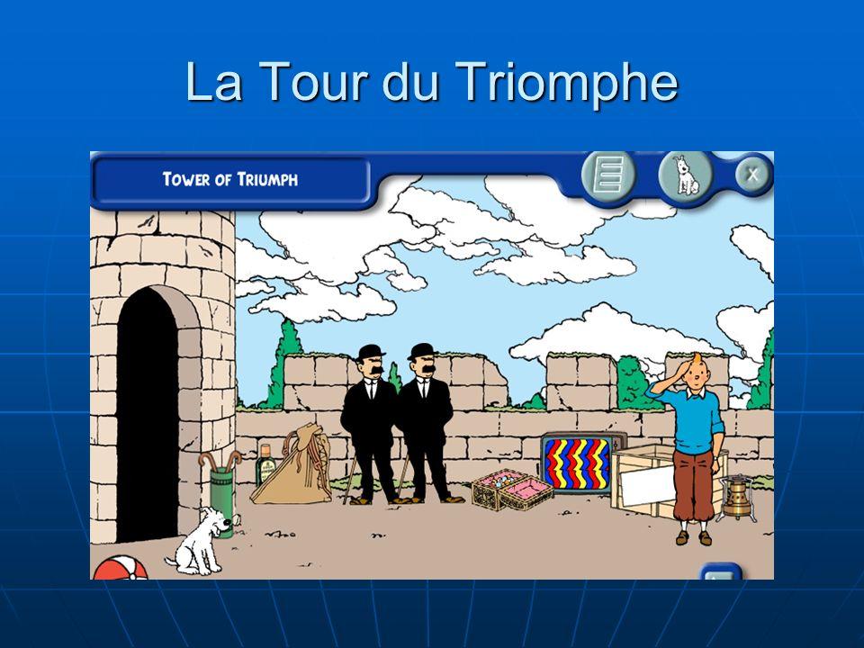 La Tour du Triomphe La Tour du Triomphe complète de façon logique l'expérience de l'élève et lui procure un sentiment de bien-être et de succès.