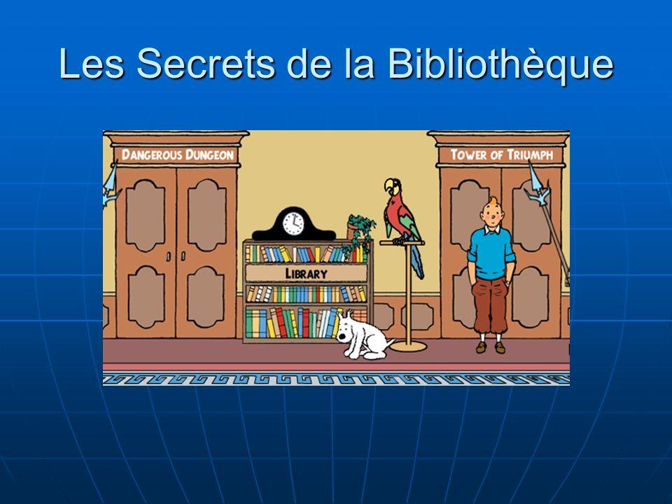 Les Secrets de la Bibliothèque