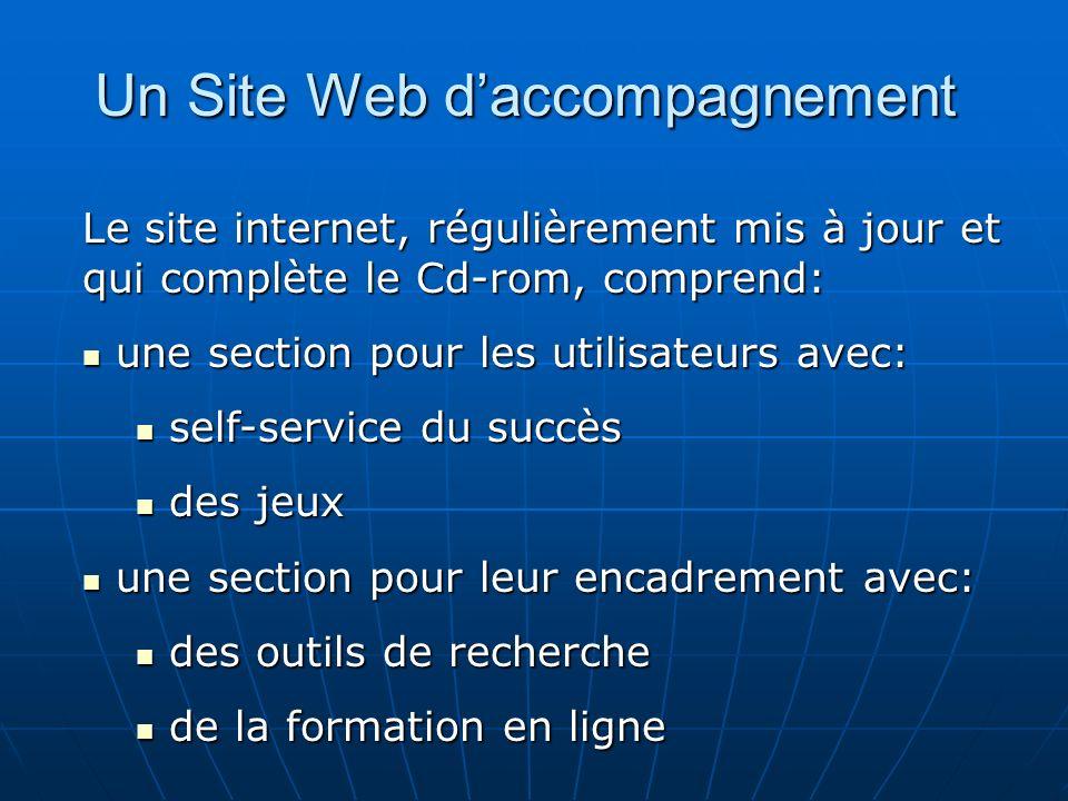 Un Site Web d'accompagnement