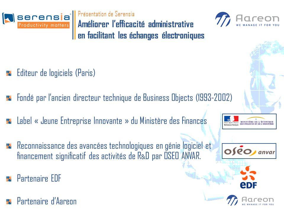 Editeur de logiciels (Paris)